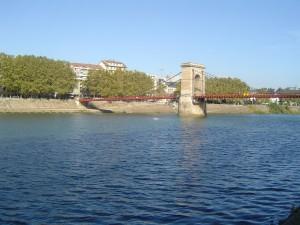 Au bord de la Saône