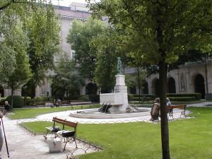 Fontaine du Palais Saint-Pierre