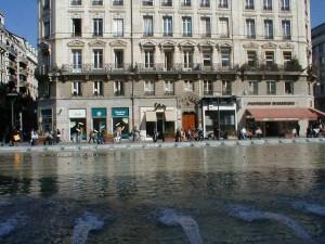 Place de la République (fontaines)