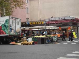 au marché de la Croix-Rousse