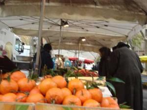 fruits et légumes, marché de la Croix-Rousse