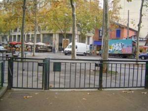 le portillon du square