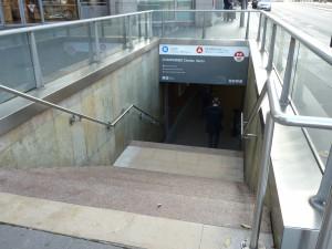 entrée métro-1